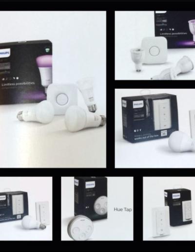Philips Hue - Styr belysning med app